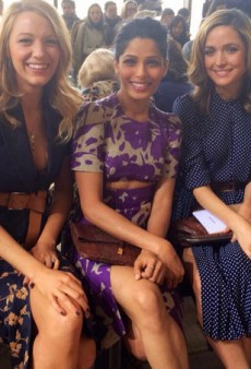The Beautiful Front Row at Michael Kors and More Fashion Tweets from #NYFW