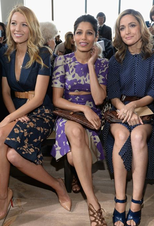 Blake-Lively-Freida-Pinto-and-Rose-Byrne-Mercedes-Benz-New-York-Fashion-Week-Fall-2014-Michael-Korsp