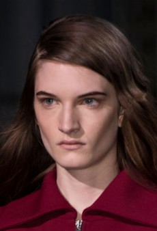Beauty Report: French Sensibility Shines at Carven Fall 2014