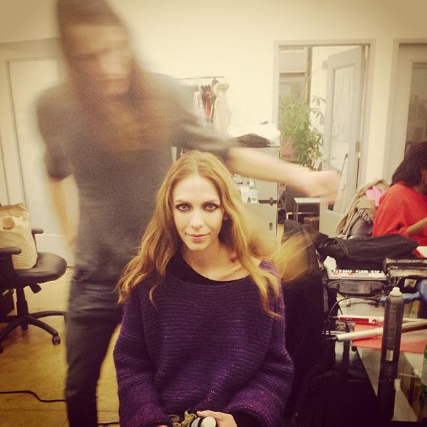 Hildie Gifstad / Aveda Professional Hair stylist Clay Nielsen