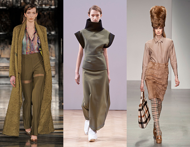 The Misses: Felder Felder, J.W. Anderson, Daks. Images via IMAXtree.