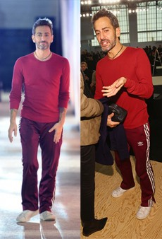 Has Marc Jacobs Been Wearing the Same Outfit All Week?