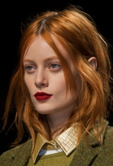 Beauty Report: Back to Basics at Max Mara Fall 2014