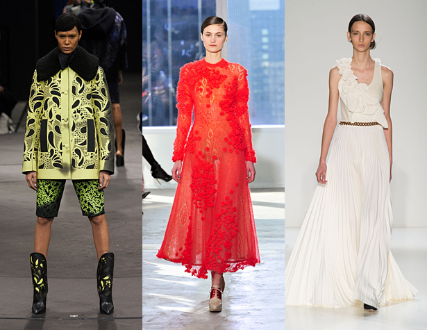 The Hits: Alexander Wang, Delpozo, Victoria Beckham. Images via IMAXtree.