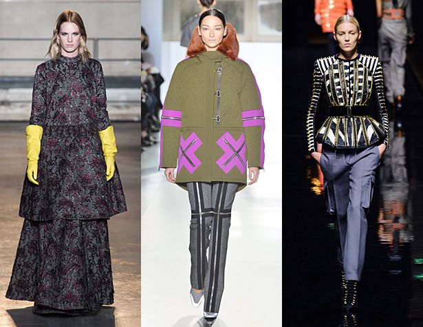 The Hits: Dries Van Noten, Christophe Lemaire, Undercover. Images via IMAXtree.