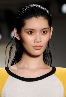 Jeremy Scott Surprises with a Relatively Minimal Beauty Look for Fall 2014