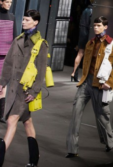 Alexander Wang Does Color and Shin Guard Boots for Fall 2014 (Runway Review)