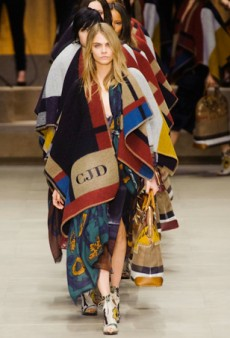 Burberry Prorsum Retreats to the Countryside for Fall 2014 (Runway Review)