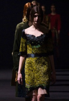 Alberta Ferretti Gets Inspired by Arboriculture for a Romantic Fall 2014 Collection (Runway Review)