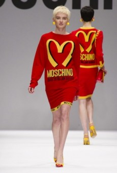 Moschino Serves Up an Ode to Pop Culture for Fall 2014 (Runway Review)