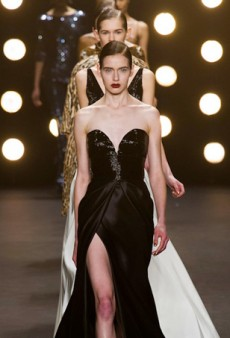 Naeem Khan Fall 2014: Life is a Cabaret (Runway Review)