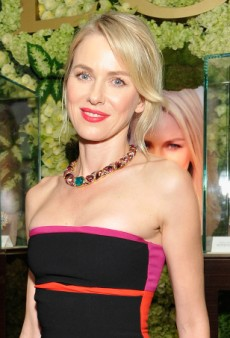 Naomi Watts Sparkles at BVLGARI's Decades of Glamour Pre-Oscar Party