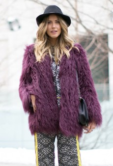 Your Daily Street Style Fix: Bright Colors and Bold Patterns on Day Three of New York Fashion Week Fall 2014