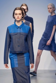 Richard Nicoll Keeps Things Sporty and Casual for Fall 2014 (Runway Review)