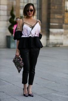 Paris Fashion Week Street Style: It Begins!