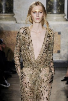 Emilio Pucci Goes Tribal for Fall 2014 (Runway Review)