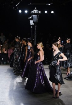 Christian Siriano Flashes Back to the 50s with a Contemporary Twist for Fall 2014 (Runway Review)