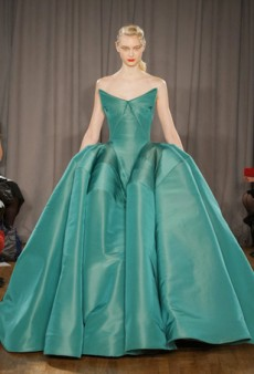 Zac Posen Mesmerizes with High-Impact Gowns for Fall 2014 (Runway Review)