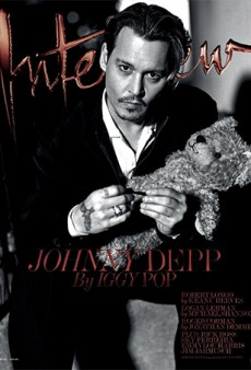 Link Buzz: Bruce Weber Photographs Johnny Depp for Interview Mag; Your Grandmother's Beauty Brands