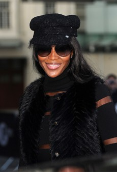 Watch: Naomi Campbell Refuses to Comment on Kim and Kanye's Vogue Cover