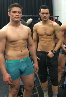 Male Models in Their Undies Kick Off Western Canada Fashion Week