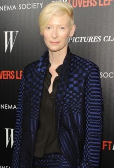 Tilda Swinton Masters Menswear-Inspired Chic in Haider Ackermann