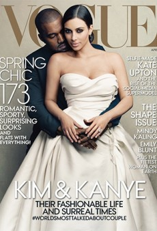 It Happened: Kim Kardashian and Kanye West Got a Vogue Cover