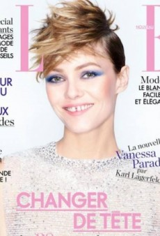 Karl Lagerfeld Photographs Vanessa Paradis for Elle France (Forum Buzz)