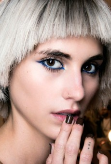 80s Redux: Blue Eye Makeup is Back in a Big Way