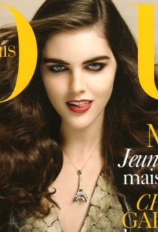 Flashback: Vogue Paris August 2006 with Hilary Rhoda by Mario Testino