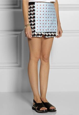 wrap skirt portrait