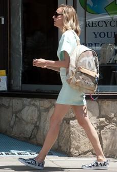Diane Kruger Spotted Carrying Chanel's $3,800 Broke Art Student-Inspired Canvas Backpack