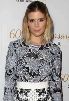 Kate Mara Gives Back in Balenciaga's Spring 2014 Floral-Themed Ensemble