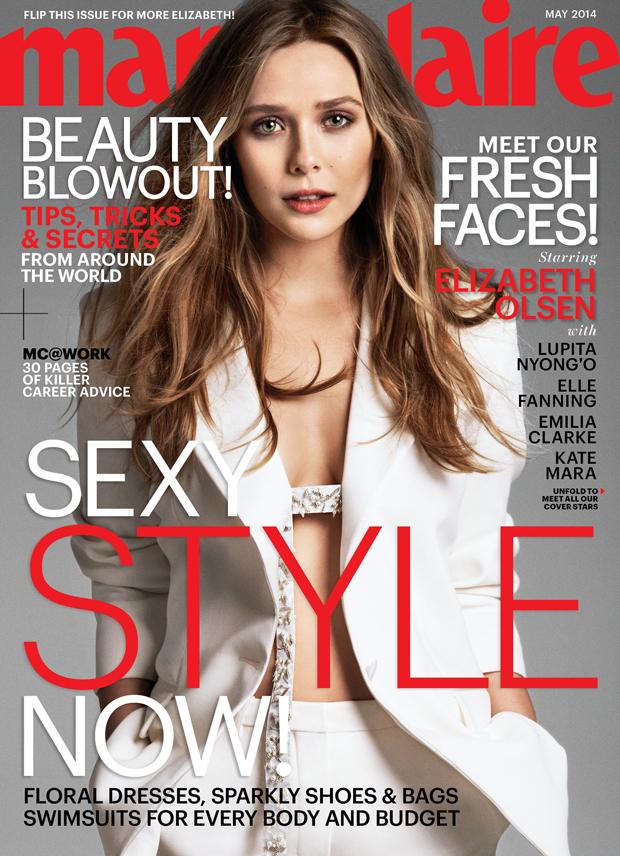 Elizabeth Olsen Covers Marie Claire