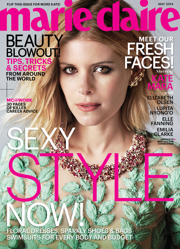 Kate Mara Covers Marie Claire