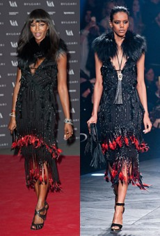 Runway to Real Life: Naomi Campbell in Givenchy Couture, Kate Moss in Saint Laurent Paris and More (Forum Buzz)