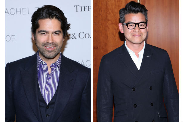 Brian Atwood and Peter Som