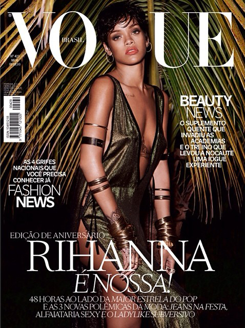 rihanna vogue brazil Mariano Vivanco