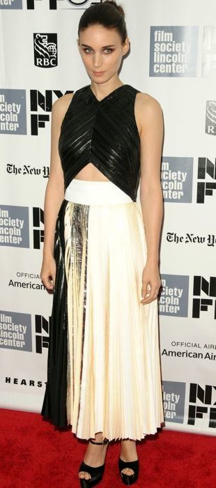 Rooney wears Proenza Schoulder to New York Film Festival