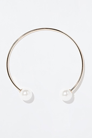 Zara pearl choker necklace