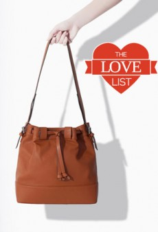 Drawstring Bucket Bags: The Love List