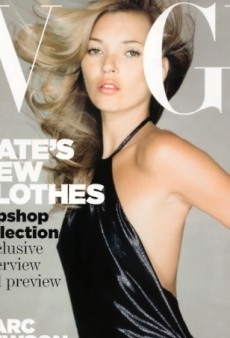 Flashback: UK Vogue April 2007 with Kate Moss by Nick Knight