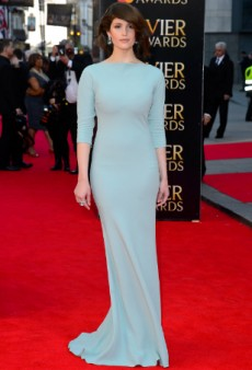 Gemma Arterton Looks Stunning in Prada at Laurence Olivier Awards