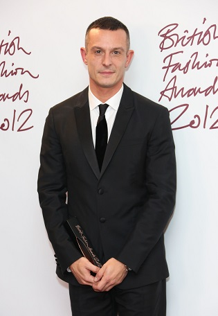 Jonathan Saunders, The British Fashion Awards 2012 held at The Savoy - Press Room