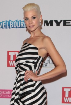 Kate Pecks Revives the Mullet Dress on the Logie Awards Red Carpet