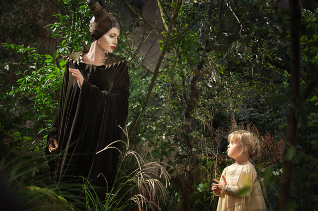 Angelina Jolie in the Disney movie 'Maleficent'