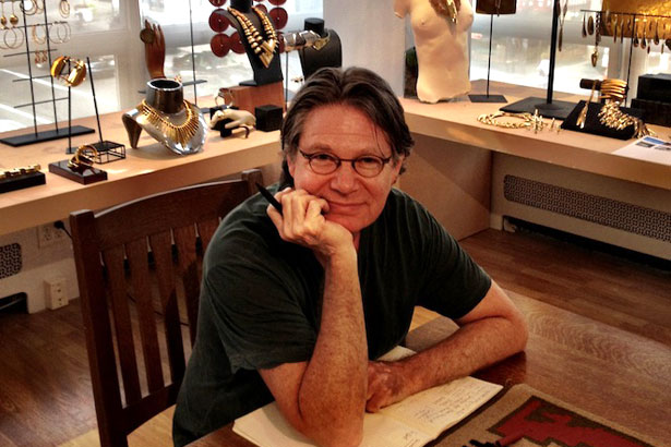jewelry designer Robert Lee Morris