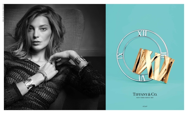 Tiffany & Co. Campaign Daria Werbowy Spring Summer 2014