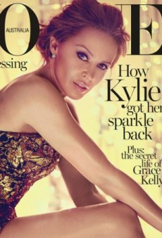 An 'Aged' Kylie Minogue for Vogue Australia's May Cover (Forum Buzz)