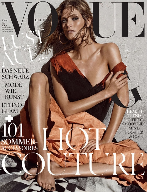 Vogue Germany May 2014 Malgosia Bela